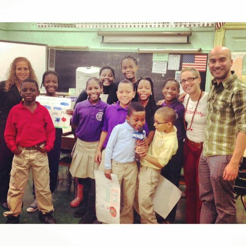 Children at PS119 in Brooklyn take some time out of their busy schedule to chat about the real story of Christmas.