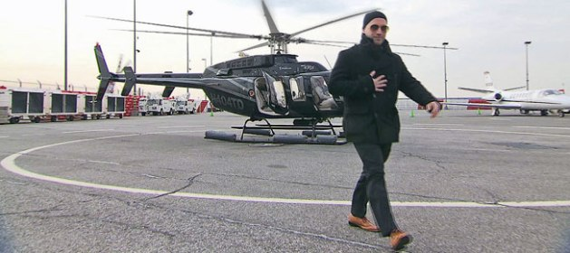 Another priceless amenity included in the service is feeling like a bad ass as you walk off a helicopter.