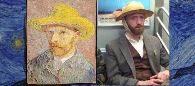 van-gogh lookalike in brooklyn